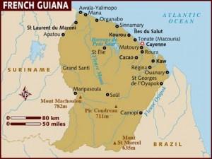 Guiana Mapa